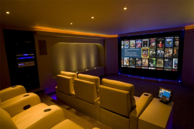 attic bedroom ideas decorating - Convert your Basement into a Luxurious Home Cinema